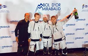 Wize by TeamWork remporte le Bol d'Or Mirabaud 2019 dans des conditions extrêmes !